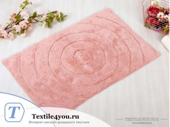 Коврик для ванной IRYA WAVES - (70x120 см) - Розовый