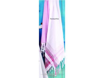 Полотенце бамбуковое IRYA DAMLA - 100x180 см (1 шт.) - Розовый