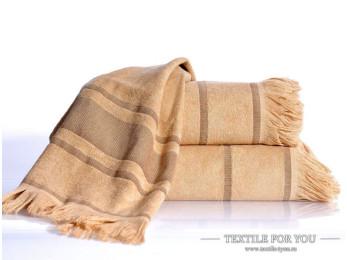 Полотенце бамбуковое IRYA DURU-SPA - 80x160 см (1 шт.) - Бежевый