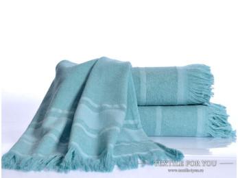 Полотенце бамбуковое IRYA DURU-SPA - 50x80 см (1 шт.) - Бирюзовый
