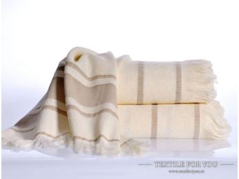 Полотенце бамбуковое IRYA DURU-SPA - 80x160 см (1 шт.) - Кремовый
