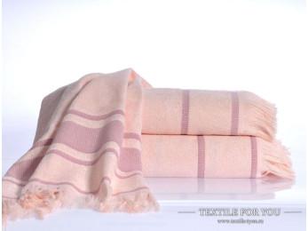 Полотенце бамбуковое IRYA DURU-SPA - 50x80 см (1 шт.) - Розовый