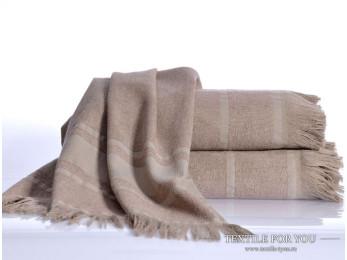 Полотенце бамбуковое IRYA DURU-SPA - 80x160 см (1 шт.) - Коричневый