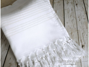 Полотенце бамбуковое IRYA NATURE - 80x160 см (1 шт.) - Белый
