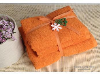 Полотенце махровое IRYA SHALLA - 50x90 см (1 шт.) - Оранжевый