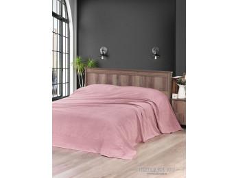 Простынь махровая KARNA MELEN 160x220 см Розовый