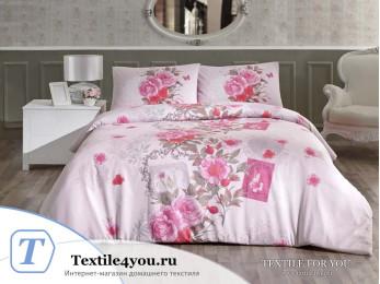 Постельное белье RANFORCE SARDINYA (1,5 спальный) - (50x70 см - 1 шт.) Розовый