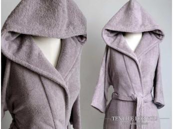 Халат махровый (Унисекс) IRYA CLASSY (S-M) - Фиолетовый