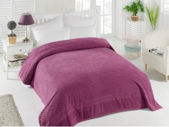 Простынь махровая TWO DOLPHINS  IBIZA (200x220 см) - Фиолетовый