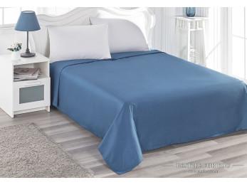 Простынь Сатин KARNA SERVAN (240x260 см) - Синий