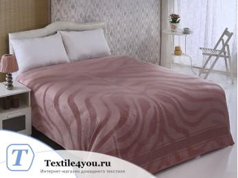 Простынь бамбуковая PUPILLA ZEBRA (200x220 см) - Розовый