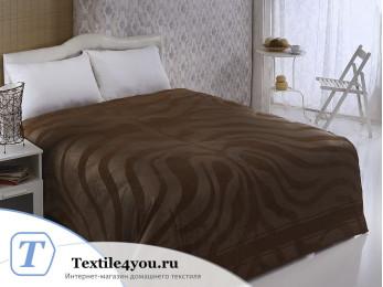 Простынь бамбуковая PUPILLA ZEBRA (200x220 см) - Коричневый