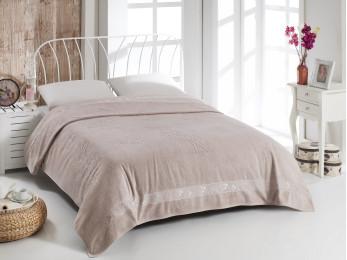 Простынь бамбуковая PUPILLA EFSUN (200x220 см) - Розовый