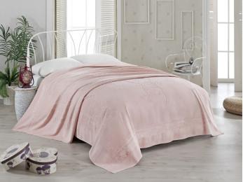 Простынь бамбуковая PUPILLA KIR CECEGI (200x220 см) - Розовый