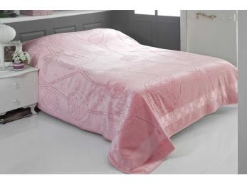 Простынь бамбуковая PUPILLA ROSE (200x220 см) - Розовый
