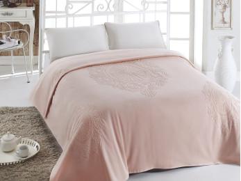 Простынь c велюром PUPILLA EFTALYA (200x220 см) - Розовый