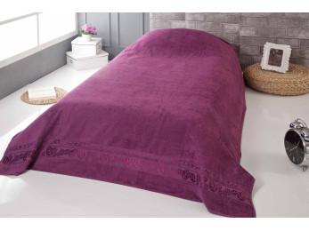 Простынь бамбуковая PUPILLA MODAL SOFT (160x220 см) - Фиолетовый