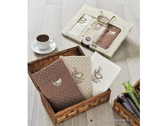 Кухонное полотенце вафельное KARNA DEVON - 45x65 шт. (3 шт.) V2