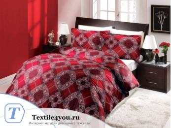 Постельное белье ALTINBASAK EXCLUSIVE Сатин (Евро) - Бордовый