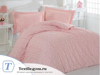 Постельное белье ALTINBASAK PRETTY Сатин (Евро) - Розовый