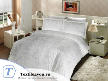 Постельное белье ALTINBASAK BLENDA Сатин (Евро) - Белый