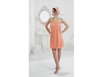 Набор для сауны женский KARNA PERA - Оранжевый