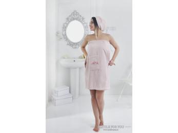 Набор для сауны женский KARNA PERA - Розовый