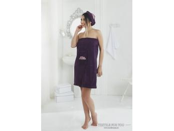 Набор для сауны женский KARNA PERA - Фиолетовый