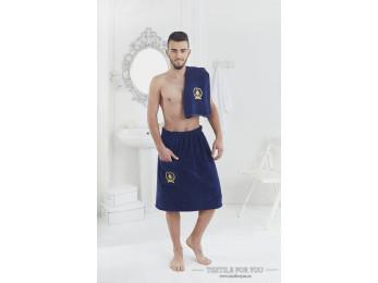 Набор для сауны мужской KARNA PAMIR  - Синий