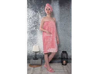 Набор для сауны женский KARNA DELBIN - Пудра