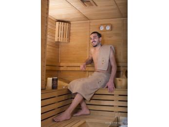 Набор для сауны мужской KARNA BAREL - Бежевый
