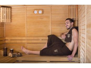 Набор для сауны мужской KARNA BAREL - Коричневый