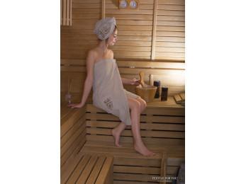 Набор для сауны женский KARNA ARVEN - Mолочный