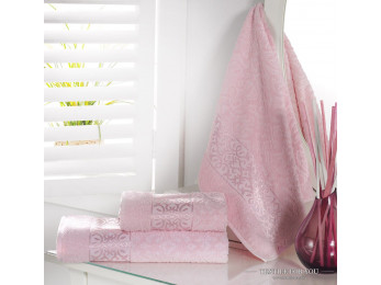 Полотенце махровое KARNA SAHRA - 50x90 см (1 шт.) - Розовый