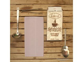 Салфетки вафельные KARNA MEDLEY - 40x60 см (2 шт.) Сиреневый