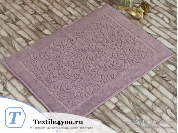Коврик для ванной KARNA ESRA махровый (50x70 см) Грязно-розовый