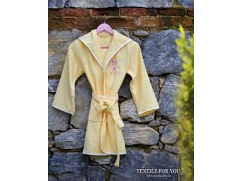 Халат детский бамбуковый PUPILLA YOUNG (9-11 лет) - Желтый