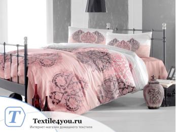 Постельное белье RANFORCE LEYAN (Евро) - (50x70 см  - 2 шт.) - Фуксия
