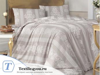 Постельное белье RANFORCE NOBBY (Евро) - (50x70 см  - 2 шт.) - Коричневый