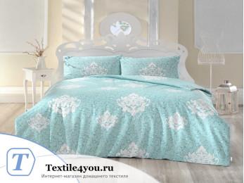 Постельное белье RANFORCE SNAZZY (Евро) - (50x70 см  - 2 шт.) - Ментол