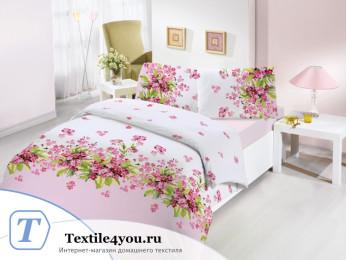 Постельное белье RANFORCE SUMBUL (Евро) - (50x70 см  - 2 шт.) - Розовый