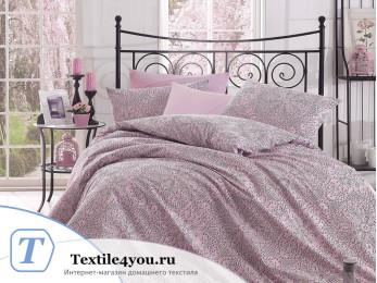 Постельное белье RANFORCE ROZI (Евро) - (50x70 см - 2 шт.) - Розовый
