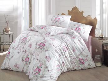 Постельное белье CREAFORCE ADMIRE (Евро) - (50x70 см  - 2 шт.) - Розовый
