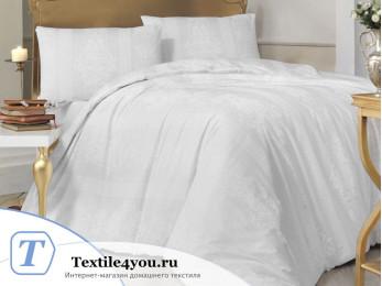 Постельное белье RANFORCE NOBBY (1,5 спальный) - (50x70 см - 1 шт.) - Белый