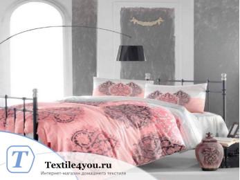 Постельное белье RANFORCE LEYAN (1,5 спальный) - (50x70 см - 1 шт.) - Фуксия