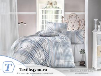 Постельное белье RANFORCE VIOLA (1,5 спальный) - (50x70 см - 1 шт.) - Бирюзовый