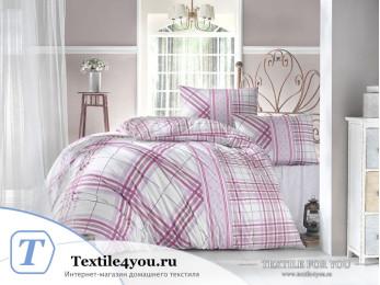 Постельное белье RANFORCE VIOLA (1,5 спальный) - (50x70 см - 1 шт.) - Фуксия