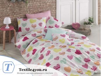 Постельное белье RANFORCE SEVGI (1,5 спальный) - (50x70 см - 1 шт.)