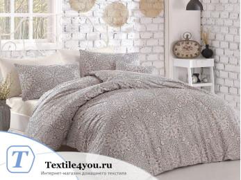 Постельное белье RANFORCE ROZI (1,5 спальный) - (50x70 см - 1 шт.) Бежевый