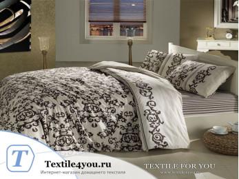 Постельное белье RANFORCE SUAVE (1,5 спальный) - (50x70 см - 1 шт.) - Коричневый